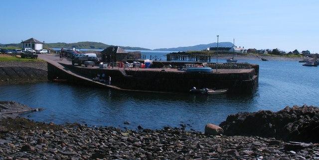 Pier at Ellenabeich
