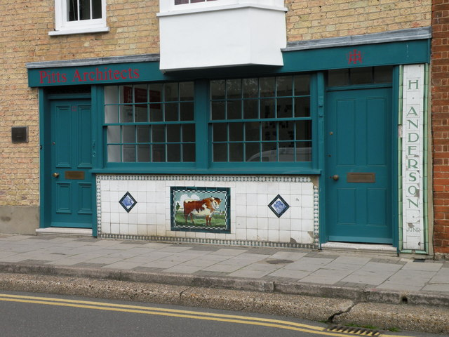 Former butcher's shop in The Waits
