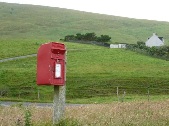 Reawick: postbox № ZE2 92