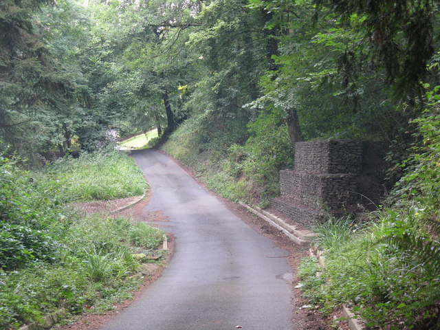 Gabions on Jennings Wood Lane