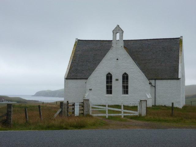 Easter Skeld: Reawick Congregational Church