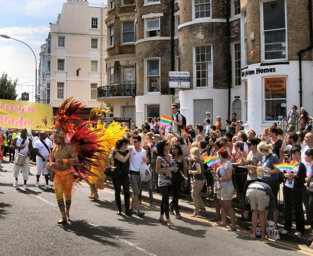 Brighton Pride Parade 2011