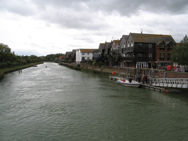 River Arun and quayside