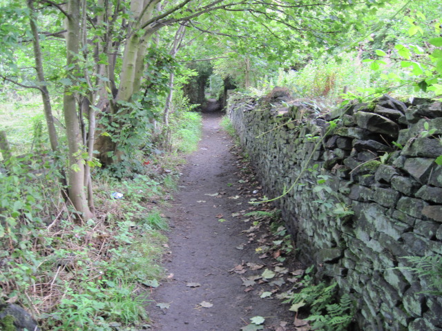Footpath to Close Hill Lane