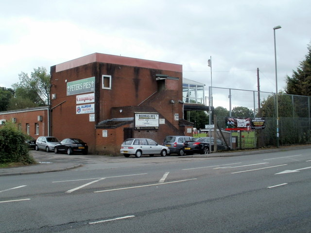 NE corner of Bedwas RFC's ground