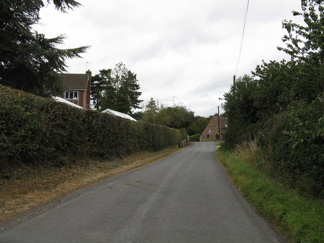 Heightington Road near The Lodge