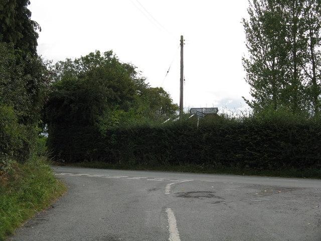 Heightington Road junction