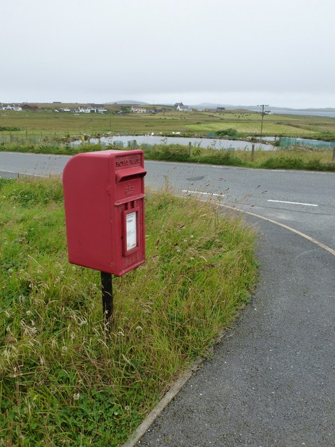 Sandness: postbox № ZE2 126