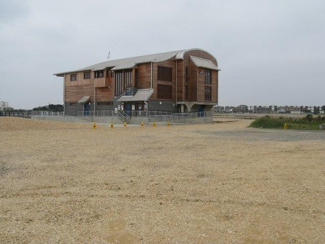 RNLI new station at Shoreham harbour