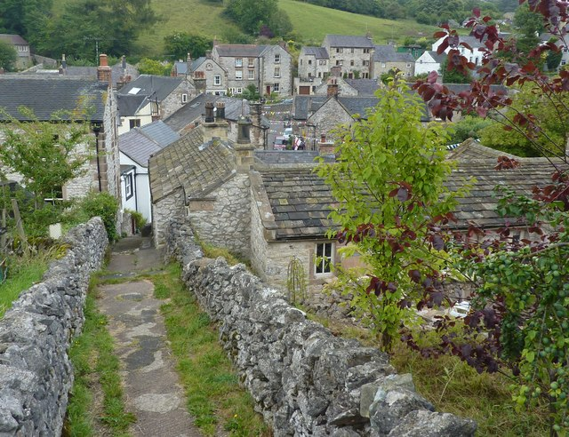 Bonsall, on a path down from Upper Town