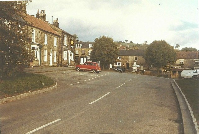 West End, Osmotherley in 1984