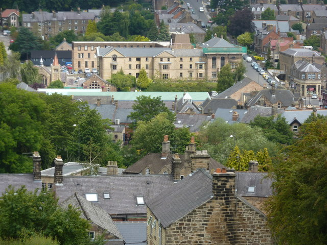 Rooftops of Matlock