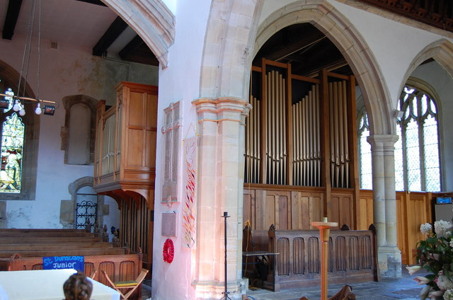 The Organ in St Dunstan's Cranbrook