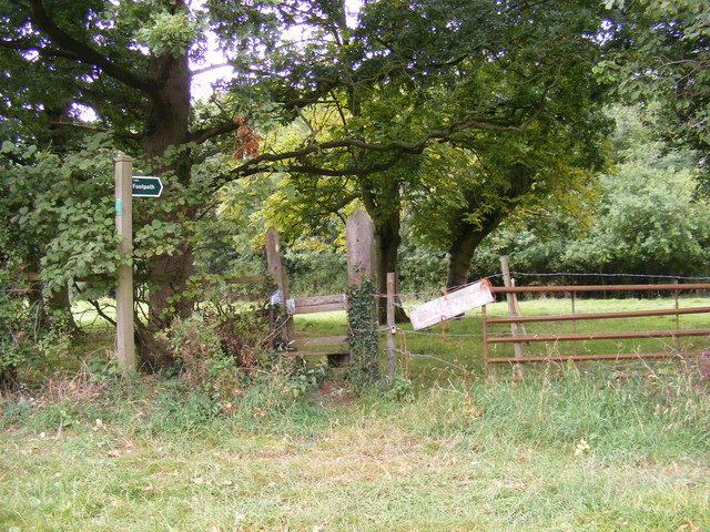 Footpath to Brandeston Road