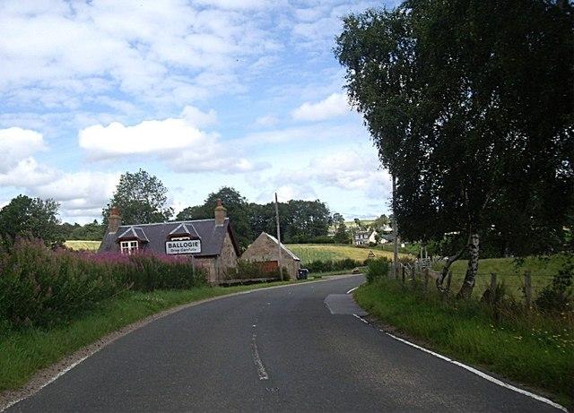 South Deeside Road at Bridgend