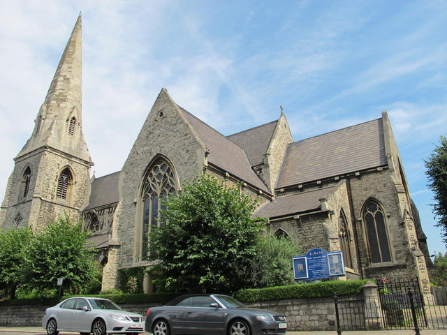 St. Mary With All Souls, Abbey Road / Priory Road, NW6