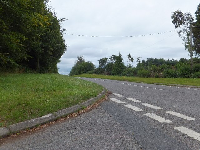 Former A30 at Straightway Head