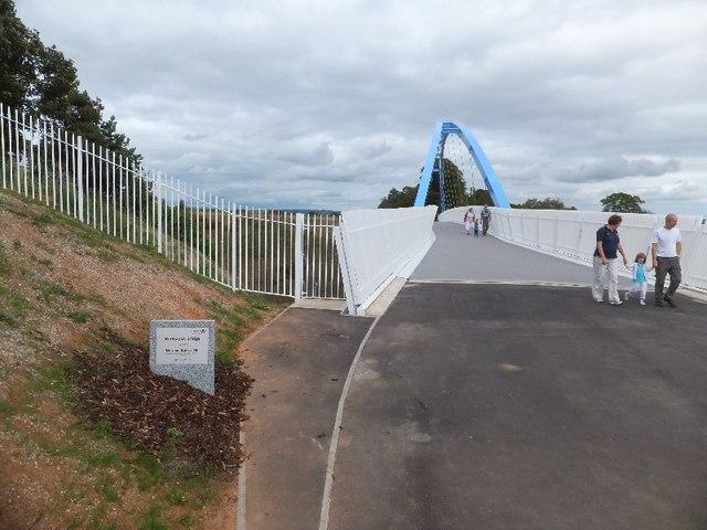Redhayes Bridge over the M5
