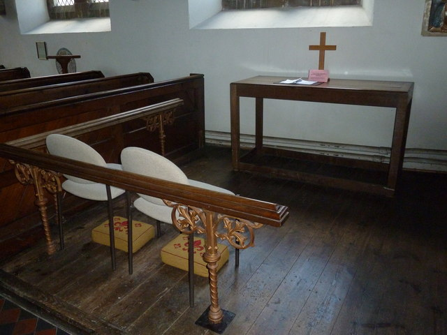 Whitchurch-All Hallows: devotional area