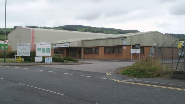 Caerphilly offices of Venture Wales