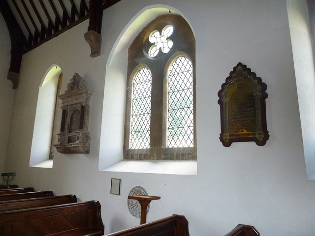 Whitchurch-All Hallows: wall memorials (c,d)
