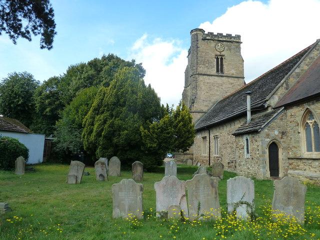 St. John the Baptist, Crawley: churchyard (1)