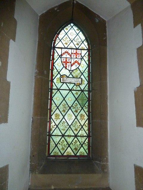 St. John the Baptist, Crawley: stained glass window (ii)