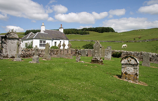 An old cemetery at Roberton