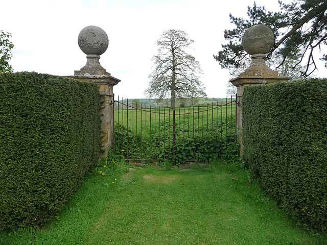 Garden of Chastleton House