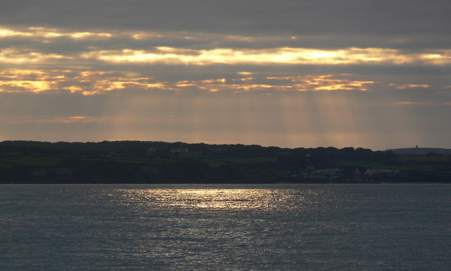 Sunset over Red Wharf Bay