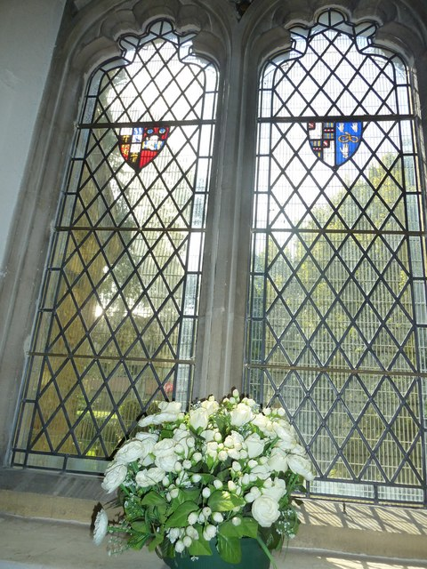 St. John the Baptist, Crawley: stained glass window (vii)