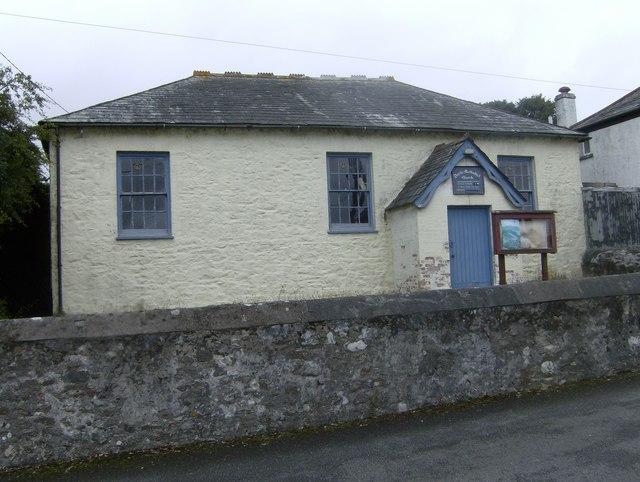The old Methodist Chapel, Darite