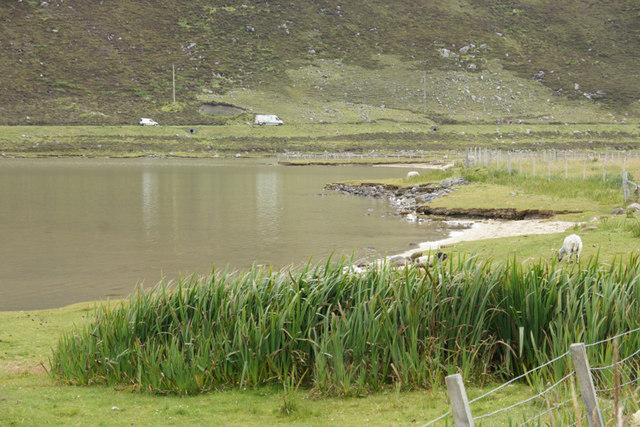 Tidal pond at Taobh Tuath