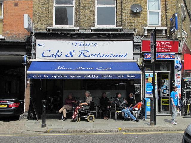 Tim's Café & Restaurant, Quex Road, NW6