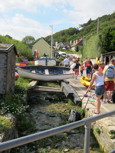 The Lulworth Cove Stream