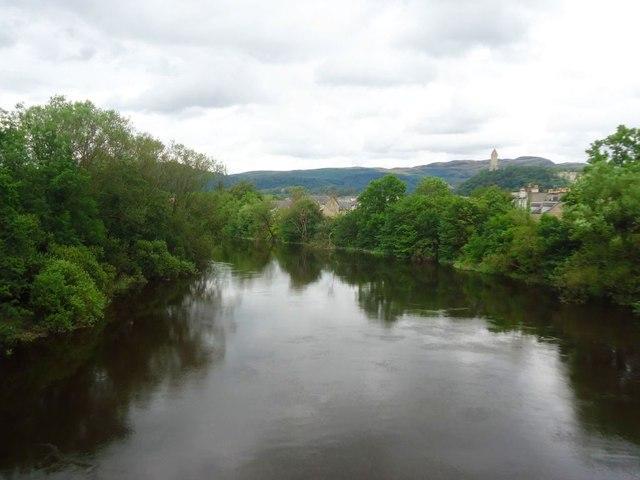 Stirling. River Forth