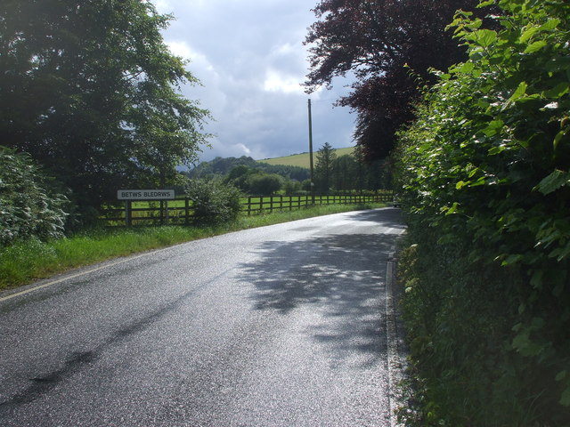 Entering Betws Bledrws