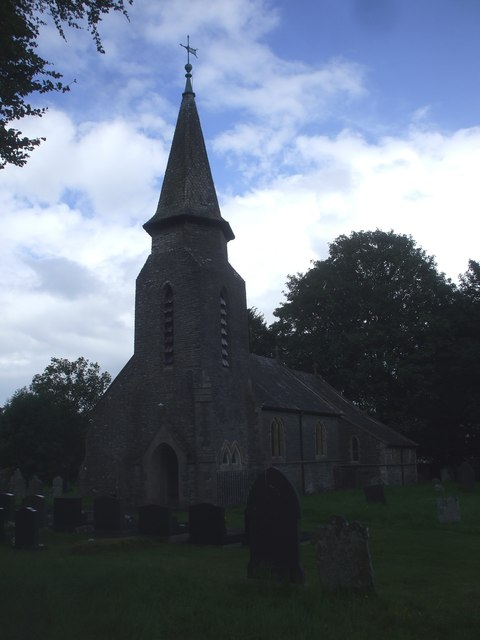 Parish church, Betws Bledrws