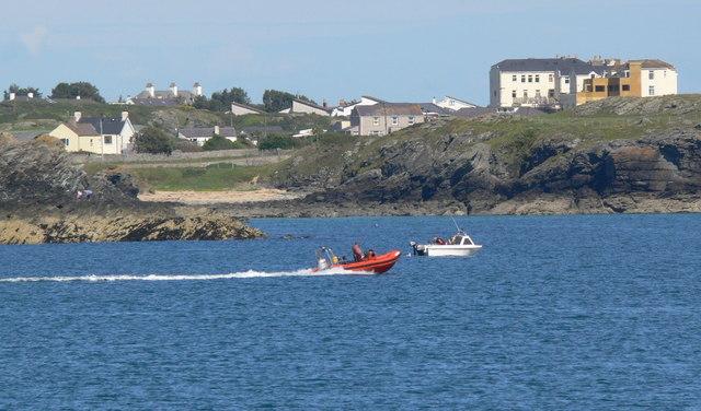 Boats at Porth-y-post