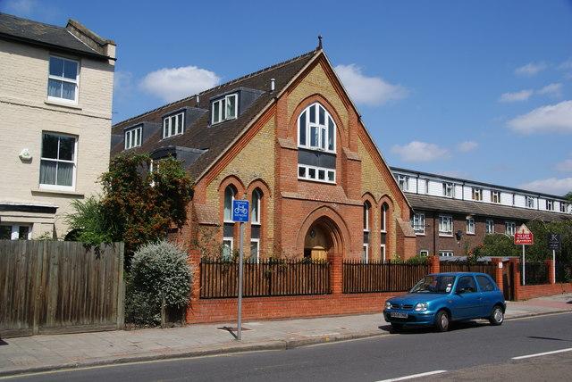 Former church on Earlsfield Road