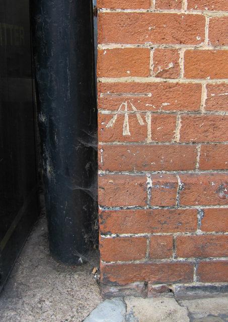 Bench mark on #8 Church Street