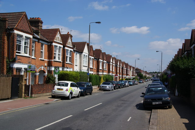 Terraced houses on Penwith Road