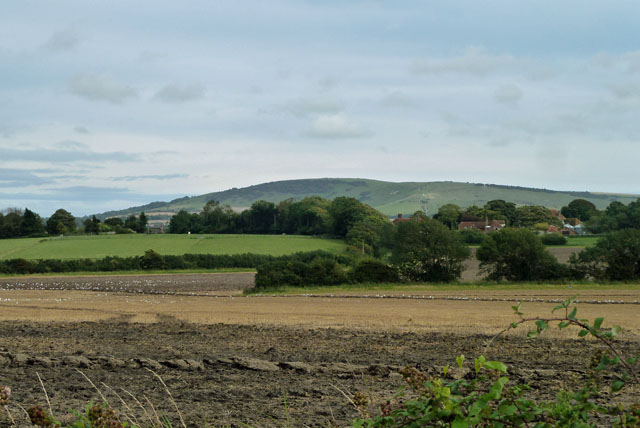 View towards Alciston