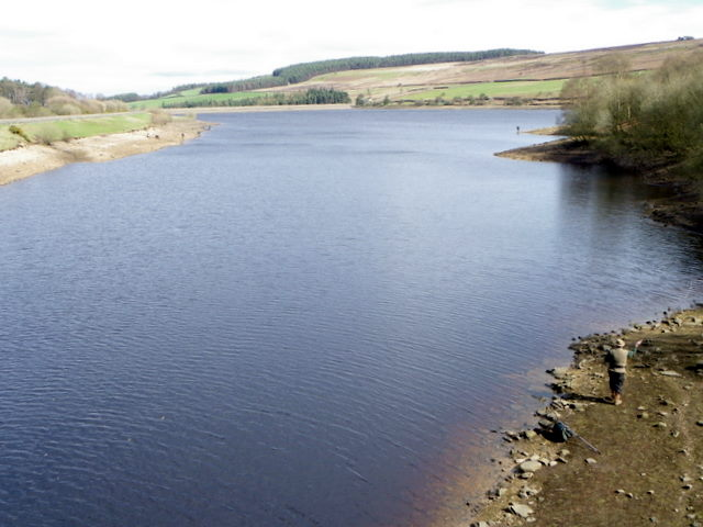 Fishing on Leighton Reservoir