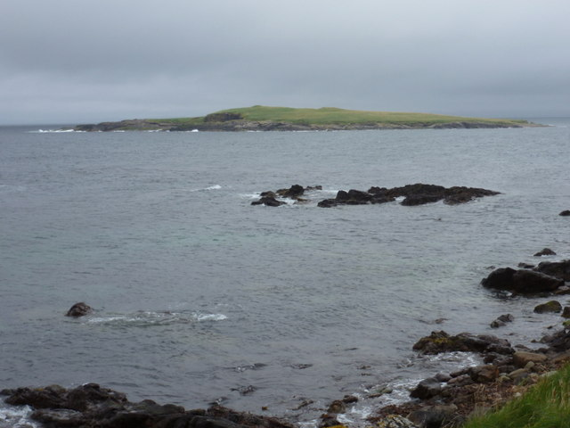 Sandness: Holm of Melby
