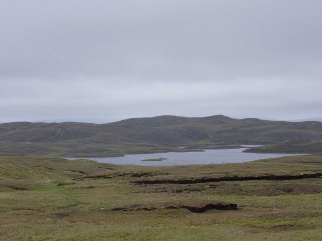 Sandness: towards Mousavord Loch