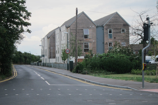 New dwellings on Stone Place Road