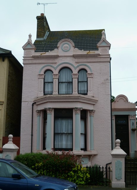 Pink house in Ramsgate