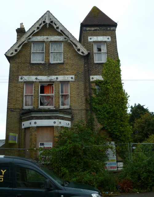 Derelict house in Ramsgate