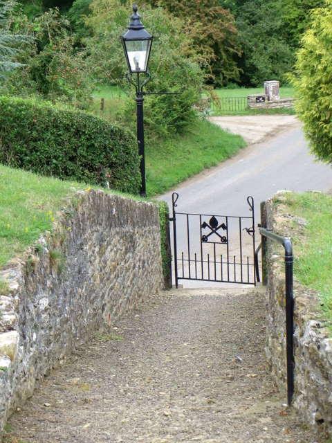 Gate, St Peter's Church